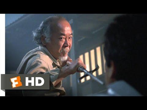 The Karate Kid Part II - Mr. Miyagi Fights Scene (5/10) | Movieclips
