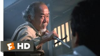 The Karate Kid Part II - Mr. Miyagi Fights Scene (5/10) | Movieclips