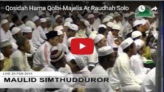 Qosidah Hama Qolbi-Majelis Ar Raudhah Solo