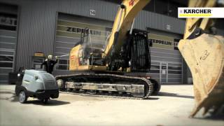 See How Karcher Machines Clean Big Construction Equipment
