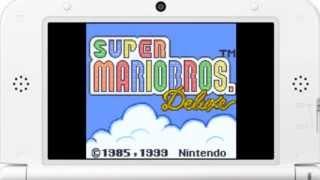 [eShop JP] Super Mario Bros. Deluxe (GBC VC) - First Look