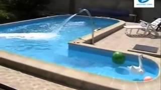 Как построить бассейн. 3(Строительство бассейна на участке дома. Больше информации на сайте: http://sam-sebe-hozain.ru/, 2014-07-19T09:30:17.000Z)