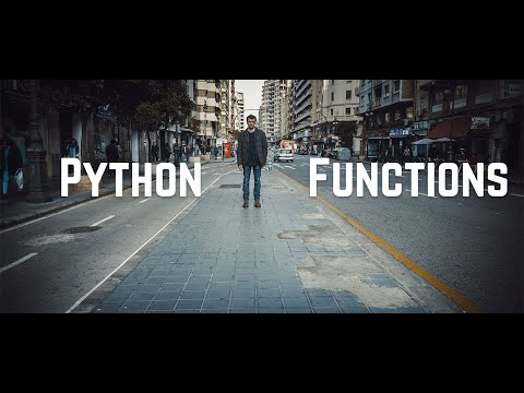 Python Functions || Python Tutorial - Functions in Python || Learn Python programming
