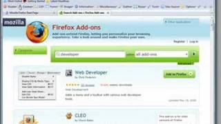 How to use add-ons in FireFox 3.0
