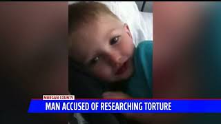 Horrible: Man Accused Of Killing 5-year-old Boy Searched For 'Most Painful Torture' Techniques!