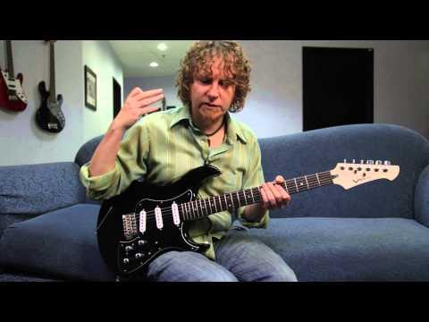 JB Eckl plays the Variax Standard - electric sounds | Line 6