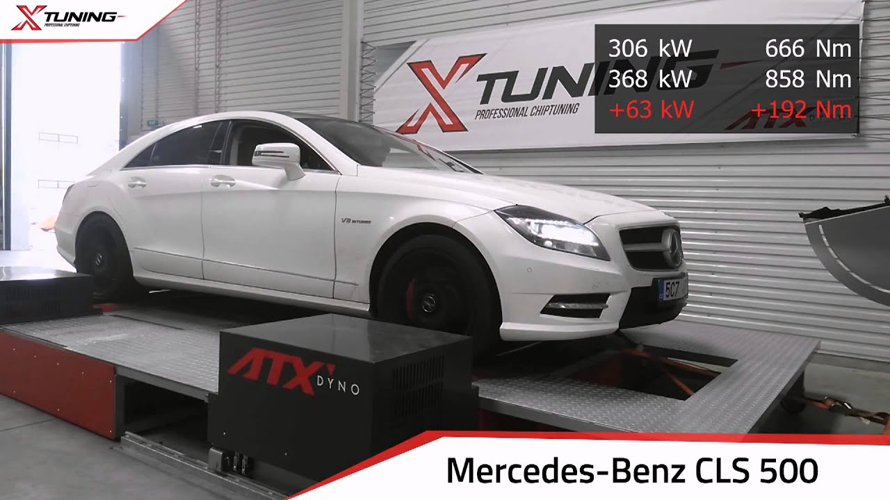 Chiptuning mercedes benz cls 500 biturbo 408hp orig 416hp for Mercedes benz performance chips
