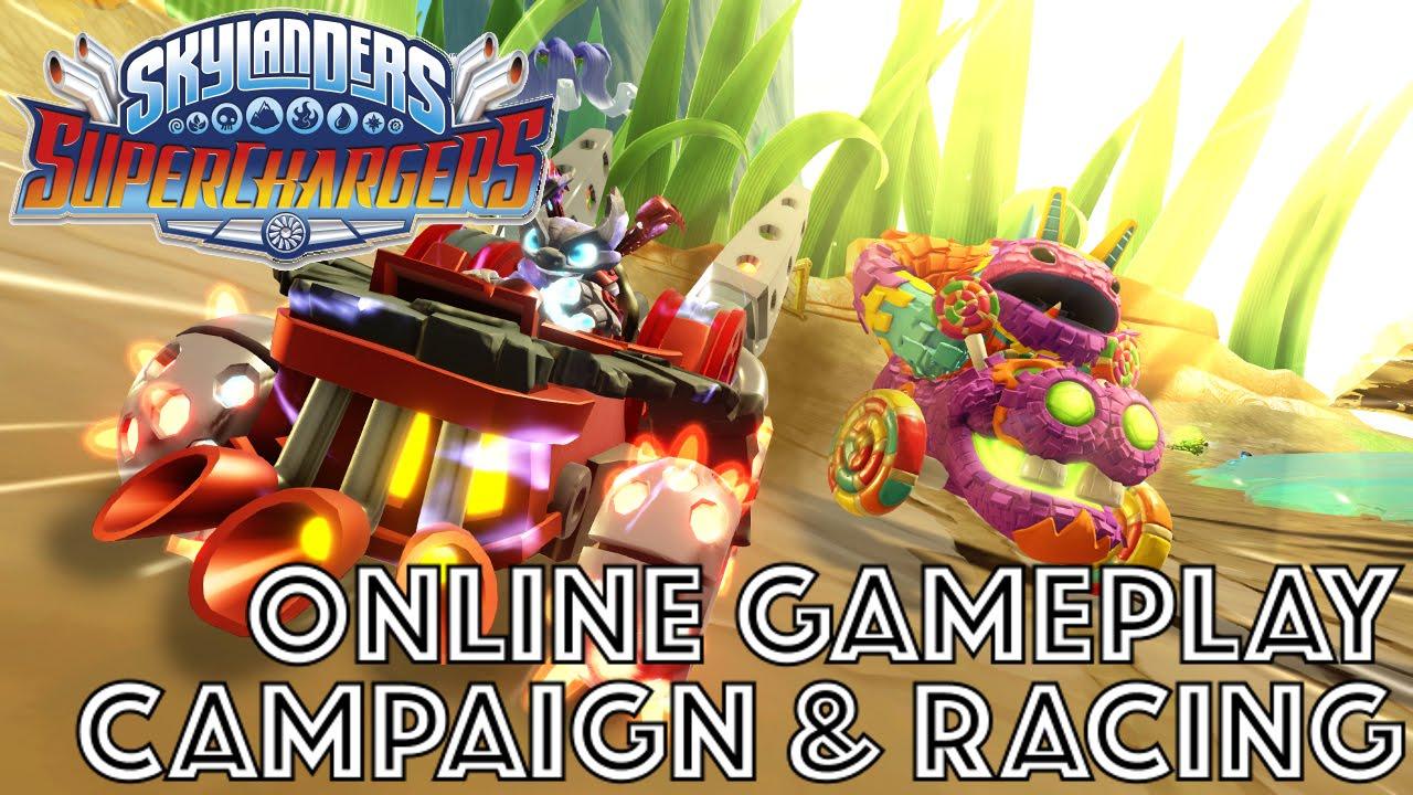 Skylanders Superchargers preview: Multiplayer online racing han