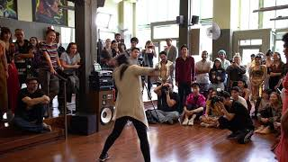 Punk & Funk II Waacking OTA Prelims: Ah-Lee-Soul (Seattle) vs. V.Va (Seattle)