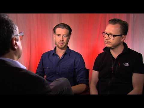 Pål Sverre Hagen and Espen Sandberg of KonTiki at the Toronto Film Festival 2012