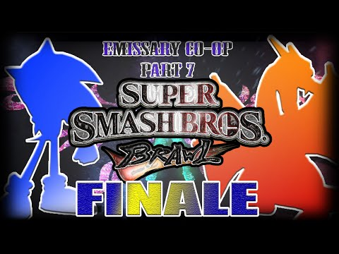 Super Smash Bros. Brawl: Subspace Emissary Co-op Playthrough - Part 7 (FINALE)