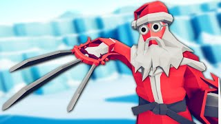 Santa Claws Sees You When You're Sleeping - Totally Accurate Battle Simulator (TABS)