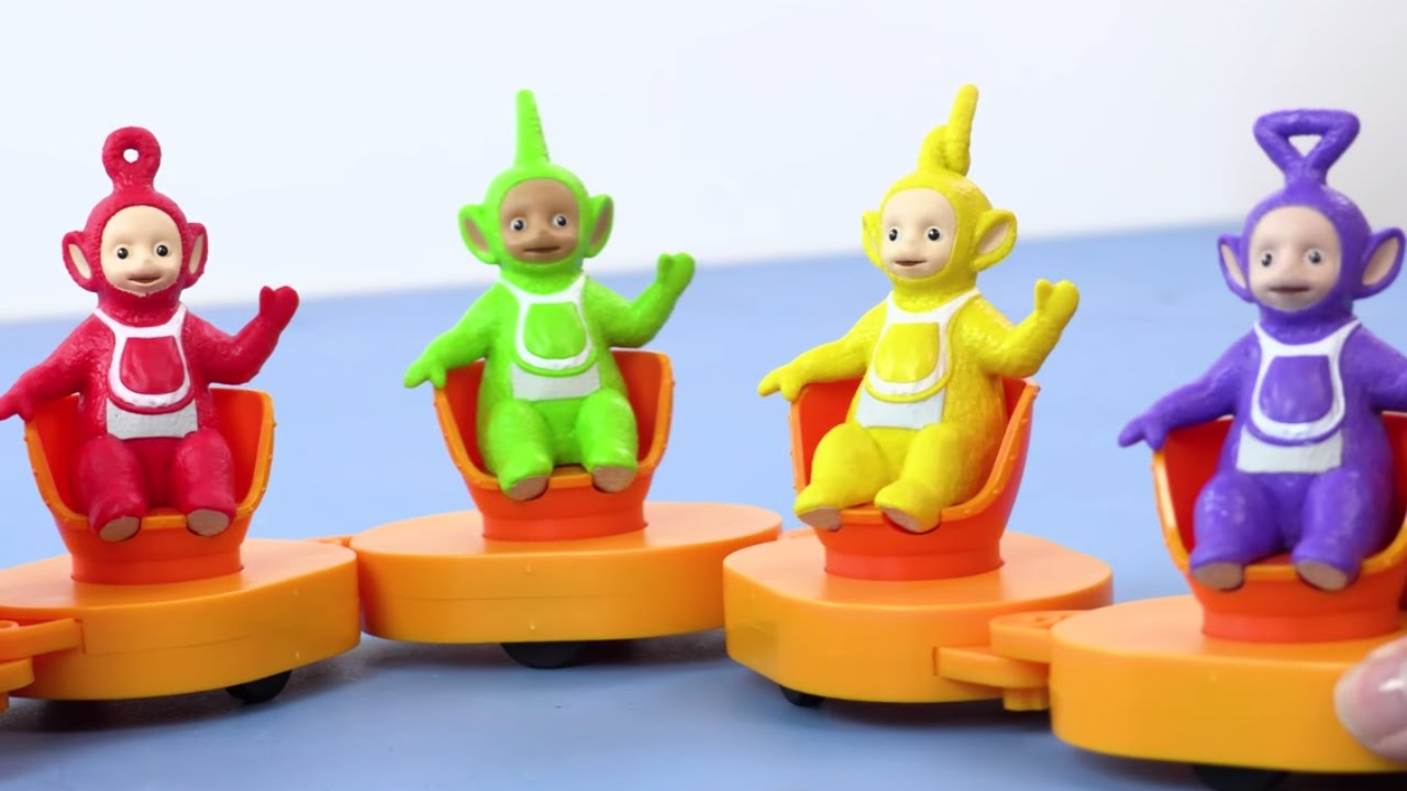Teletubbies Toys - Superdome and Tubby Custard Train ...