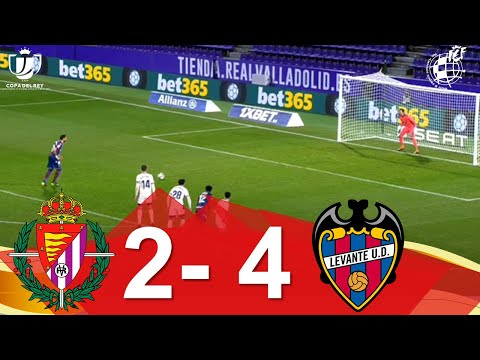 Valladolid Levante Goals And Highlights