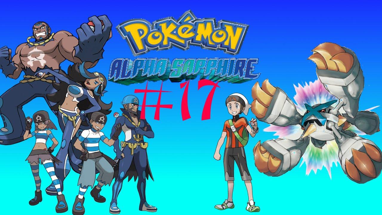 Let 39 s play pokemon alpha saphir elektrisierend und for Boden pokemon