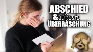 ABSCHIED und die SÜSSESTE ÜBERRASCHUNG | janasdiary