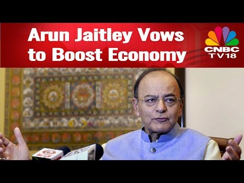 Arun Jaitley Interview | Finance Minister Vows to Boost Economy | Editors' Roundtable | CNBC-TV18