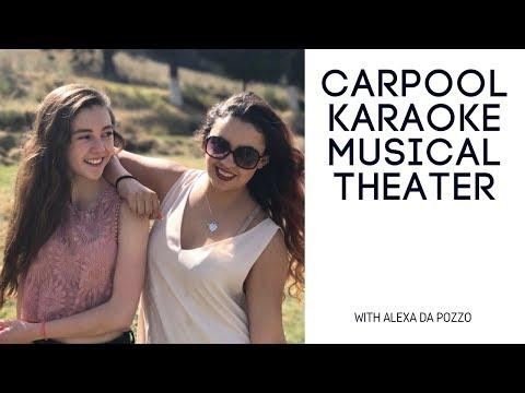 CARPOOL KARAOKE MUSICAL THEATER