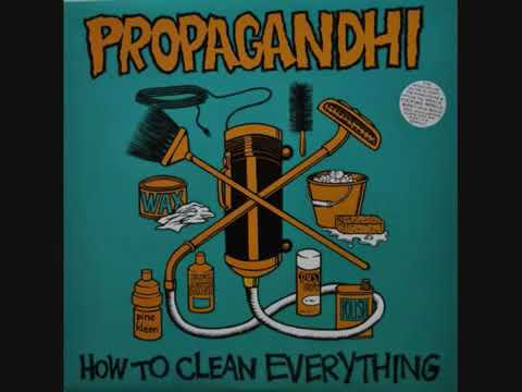 PROPAGANDHI How to clean everything 1993