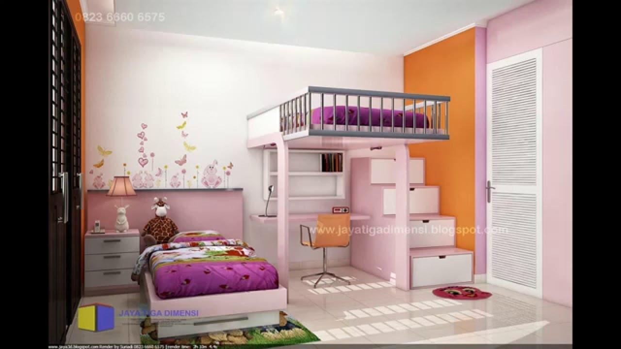 Dekorasi Kamar Tidur Anak Perempuan Youtube
