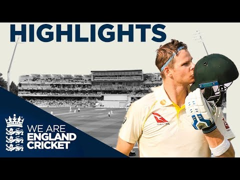 Steve Smith Makes 144 On Test Return | The Ashes Day 1 Highlights | First Specsavers Ashes Test 2019