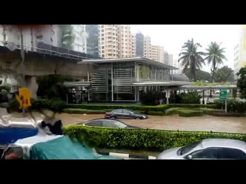 Flooding At Paya Lebar MRT Station