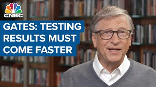 Bill Gates: Covid-19 testing is a 'waste' unless results are available within 48 hours