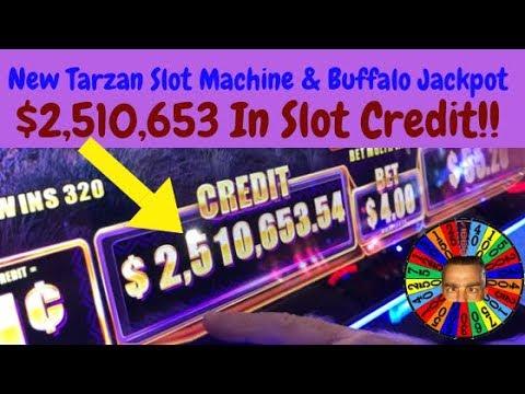 💥.5 Million Dollars On Buffalo Slot Machine💥