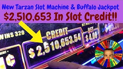 💥$2.5 Million Dollars On Buffalo Slot Machine💥