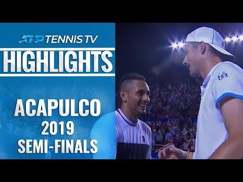 Kyrgios Sets Zverev Final Clash | Acapulco 2019 Semi-Final Highlights
