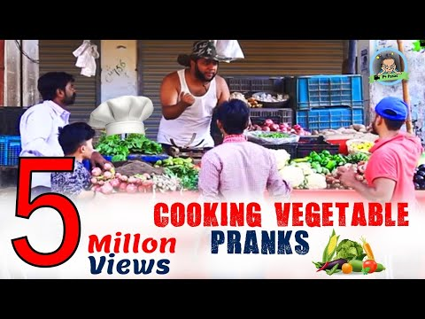 COOKING VEGETABLES PRANKS | By Nadir Ali & Team In