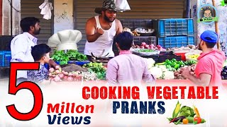 | COOKING VEGETABLES PRANKS | By Nadir Ali & Team In P4 Pakao 2017
