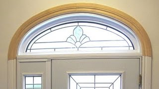 Curved trim layout