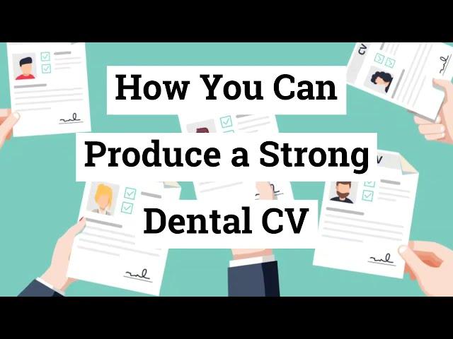 🆕 How You Can Produce A Strong Dental Cv 👉 Dental Cv 2020
