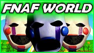 FNAF PUPPET MASTER RETURNS! WHAT COULD IT MEAN? - Super Fnaf Rpg (Five Nights at Freddy's World Game