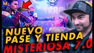 LLEGA TIENDA MISTERIOSA 7.0 Y PASE DE BATALLA TRAP DE FREE FIRE