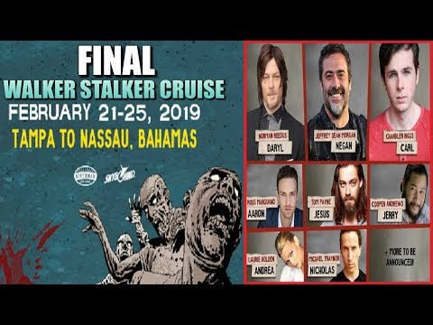 Walker Stalker Cruise 2020.Walker Stalker Cruise 2019 News Prices Guests Final