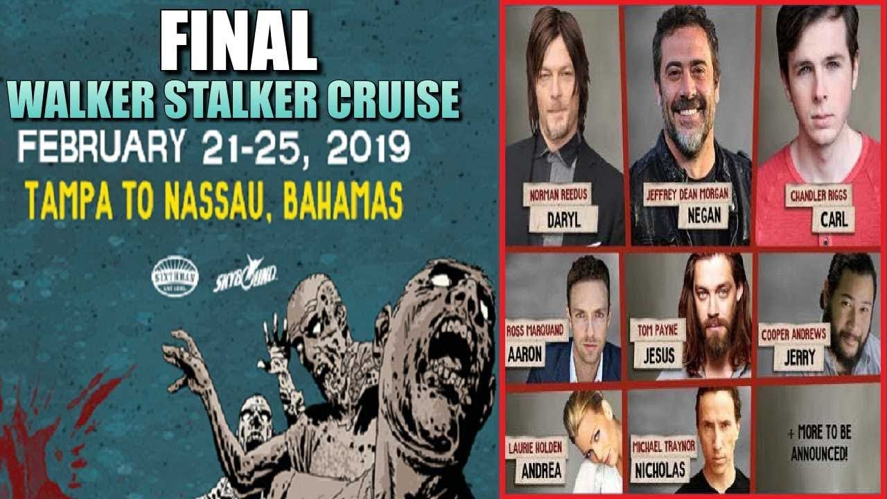 Walker Stalker Cruise 2020.Walker Stalker Cruise 2019 News Prices Guests Final Walker Stalker Cruise Info
