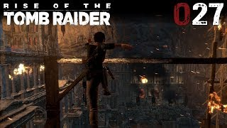 Rise of the Tomb Raider #027 | Flucht aus dem Archiv | Let's Play Gameplay Deutsch thumbnail