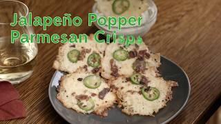 Frigo® Cheese Jalapeño Popper Parmesan Crisps