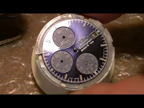 How to repair a Seiko 7T32-7C20 Flightmaster - part 1