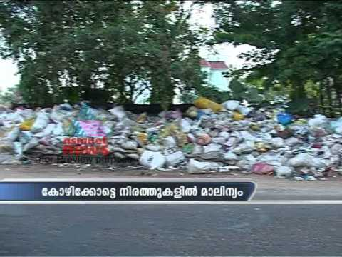 Dumping of waste in public places