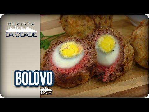Receita de Bolovo - Revista da Cidade (12/01/17)
