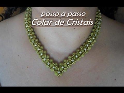 NM Bijoux - Colar de Cristais