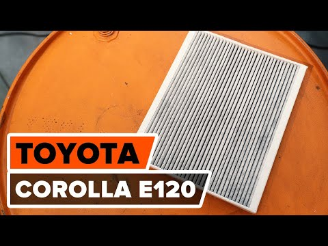comment remplacer des filtre d 39 habitacle sur une toyota corolla e120 tutoriel autodoc youtube. Black Bedroom Furniture Sets. Home Design Ideas
