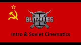 Blitzkrieg 2 Intro And Soviet Cinematics (Remastered)