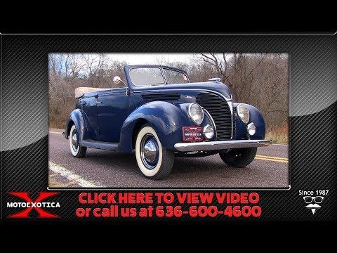1938 Ford DeLuxe Phaeton || For Sale - YouTube