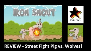 Iron Snout Review | Record: Beat my Highscore! - iOS Beta HTML Gameplay (Android/iPhone/iPad)
