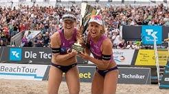 Karla Borger und Julia Sude sind die neuen deutschen Beachvolleyballmeisterinnen 2019