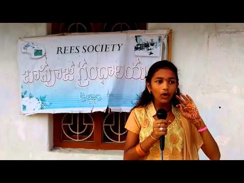 Watch How This Rural Area Student's give excellent speech on Unemployment